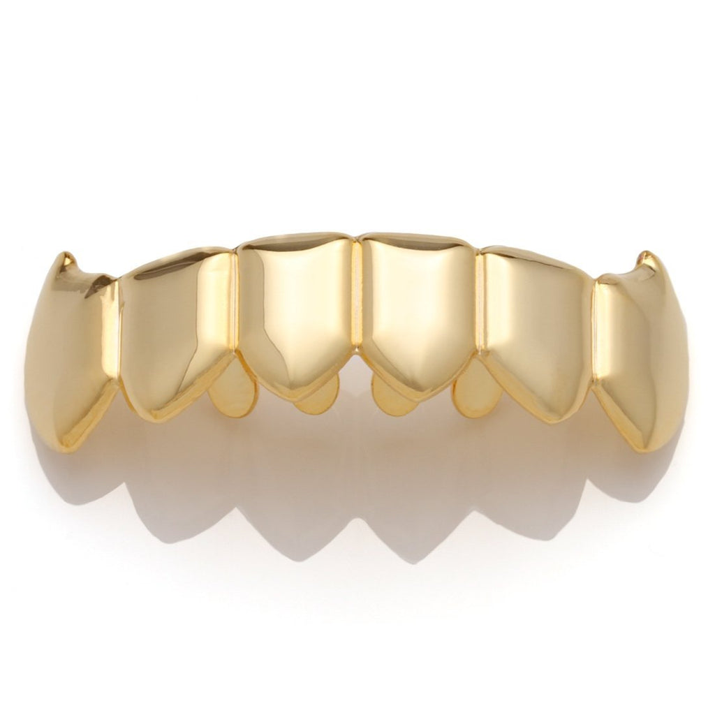 Gold Plated Dracula Premium Grillz