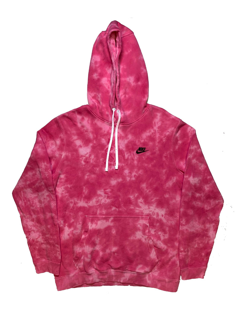 Nike X Jeffersons Custom Tonal Tie Dye Washed Hoodie