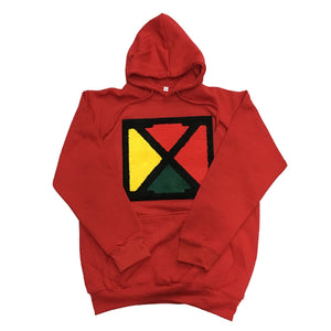 Originals X Hoodie in Red