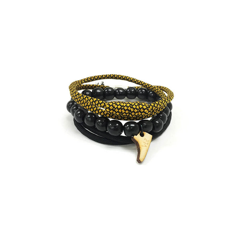 Stacks and Sneakers 3 pack in Black and Gold