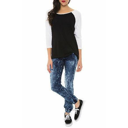 Pearl Jeans Collection Skinny Jeans (Ice Dark Blue)