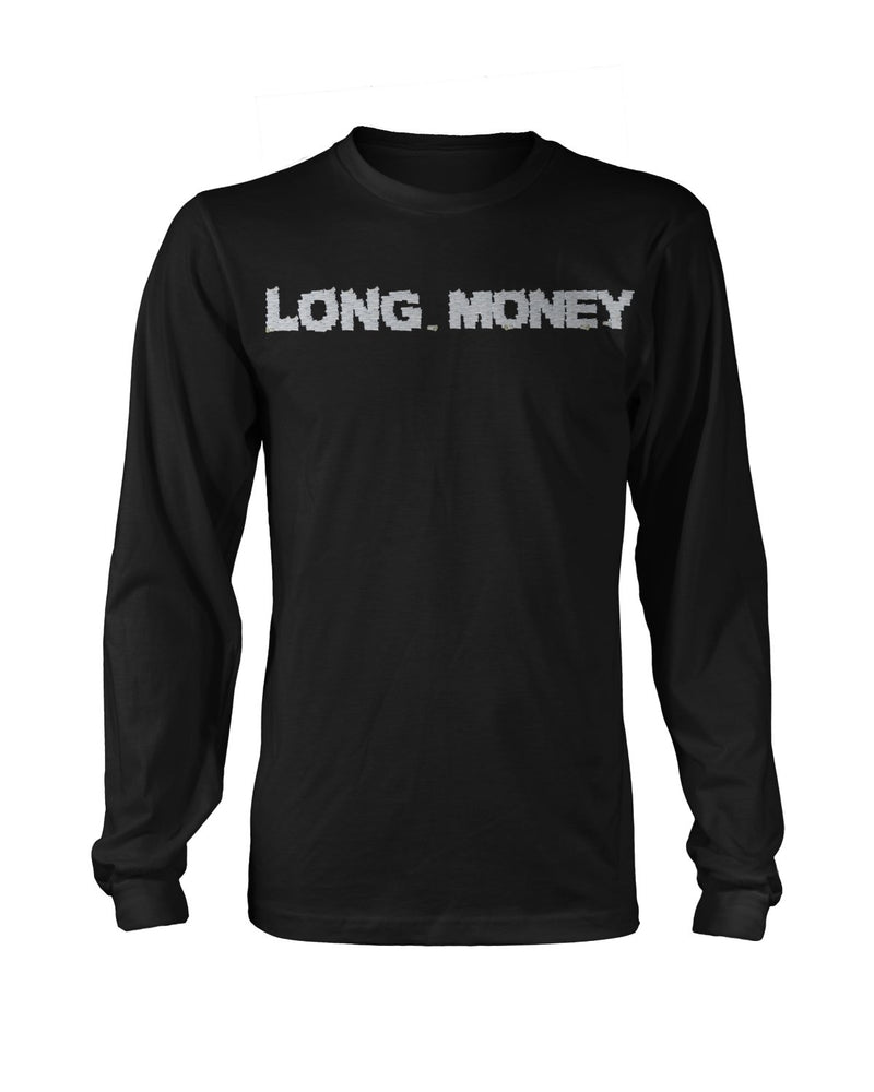 Long Money- Black Long sleeve