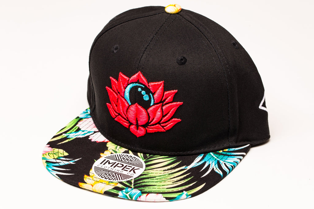 Moon Garden Snapback- Tropic Edition