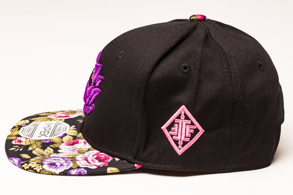 Moon Garden Snap Back- Royal Edition