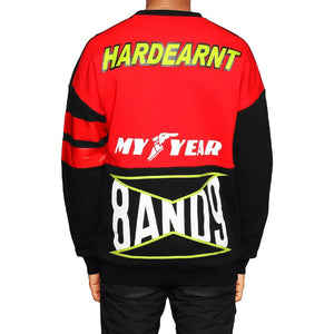 My Year Paneled Crewneck Sweatshirt