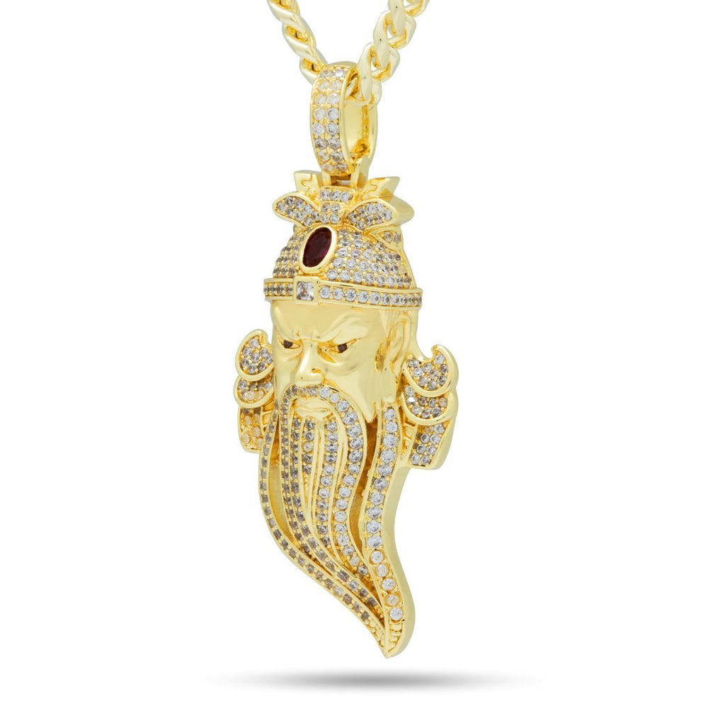 The 14K Gold God of War Necklace