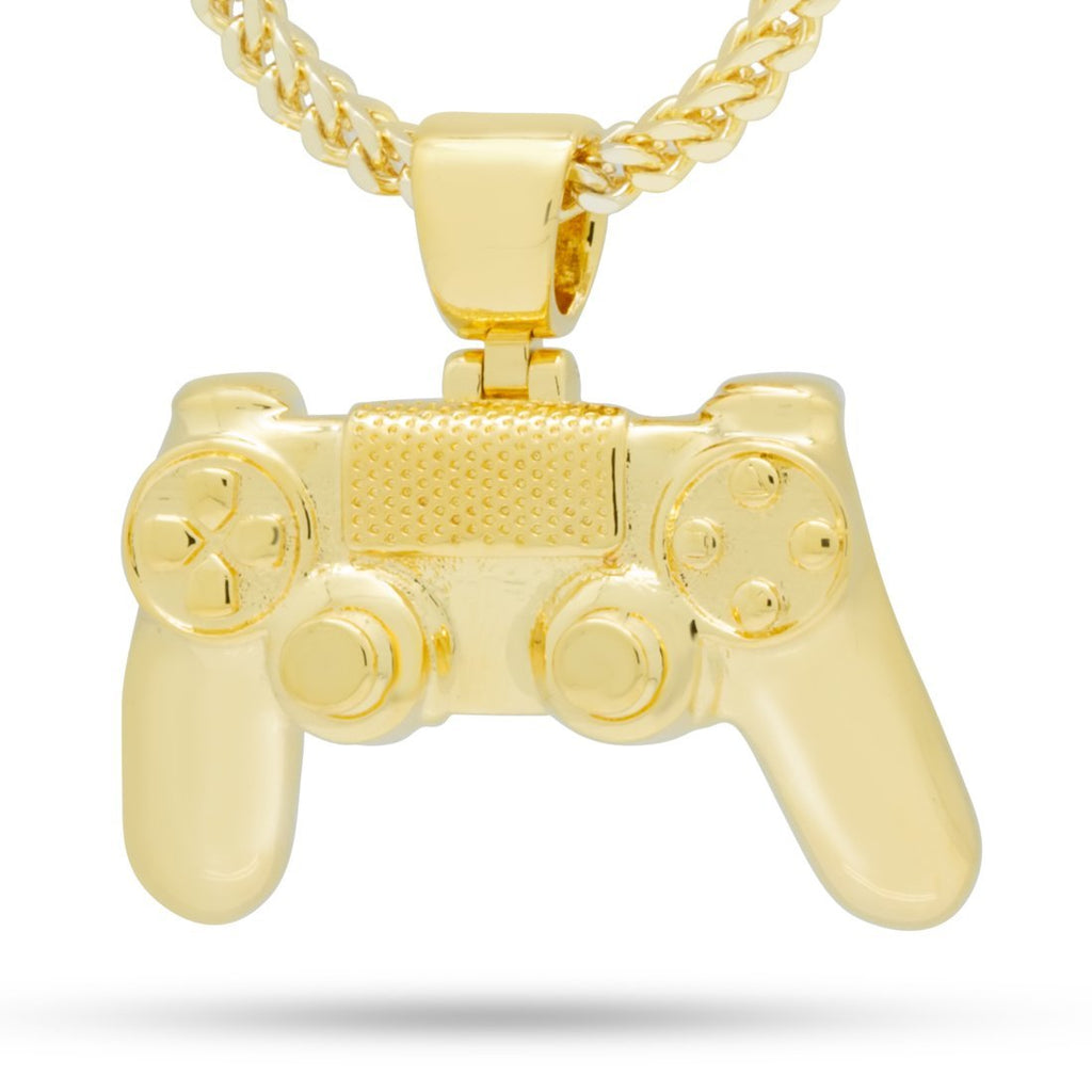 Inspired by PlayStation® - The Gold Classic Controller Necklace