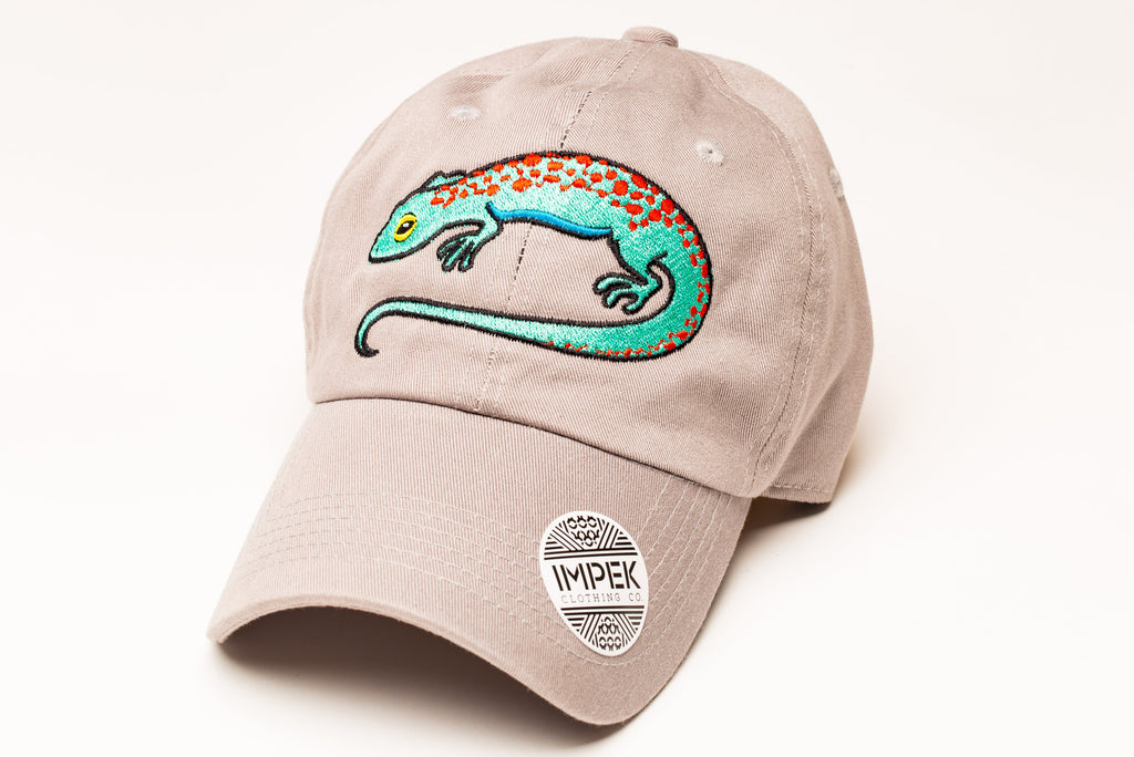 Salamander Dad Hat -Blue Eft