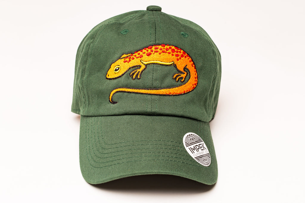 Salamander Dad Hat -Red Eft