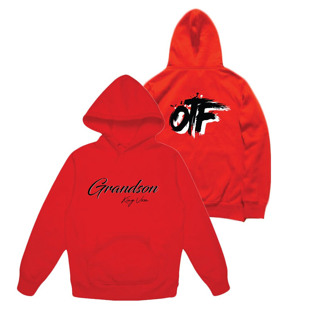Red OTF Hoodie + Album Download
