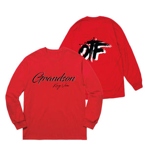 Red OTF Longsleeve + Album Download