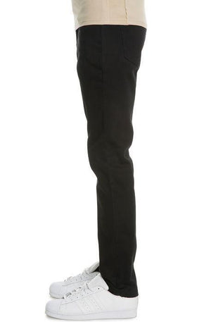 VB Basic Slim Straight Jeans (Black)