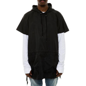 Assassins Dolman Windbreaker (Black)