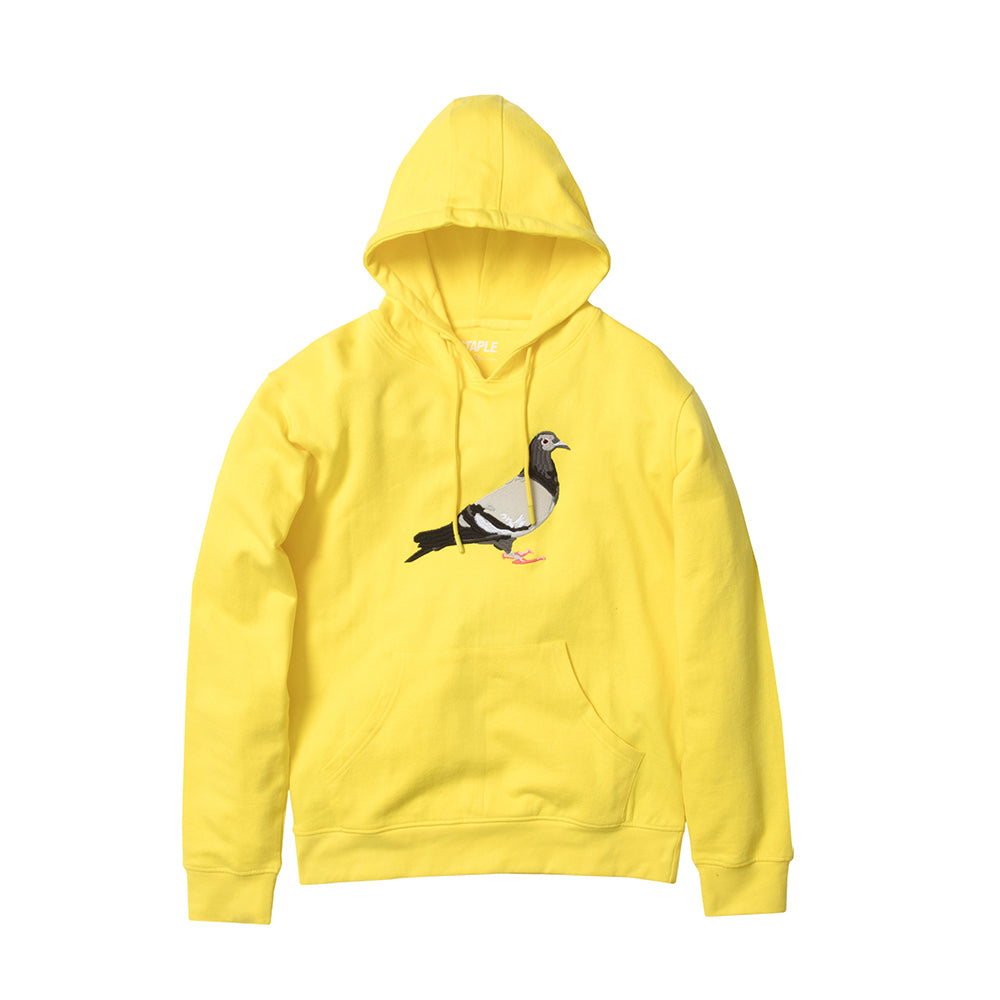 Big Pigeon Embroidered Hoodie
