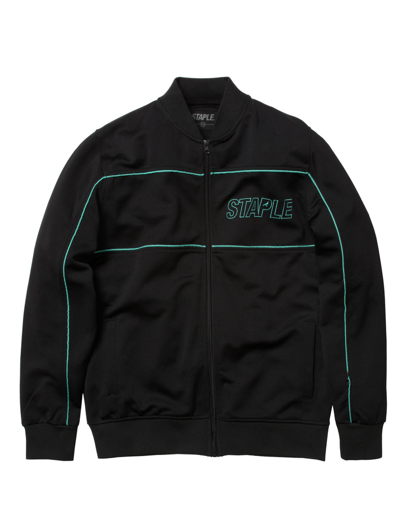 Logo Poly Track Jacket