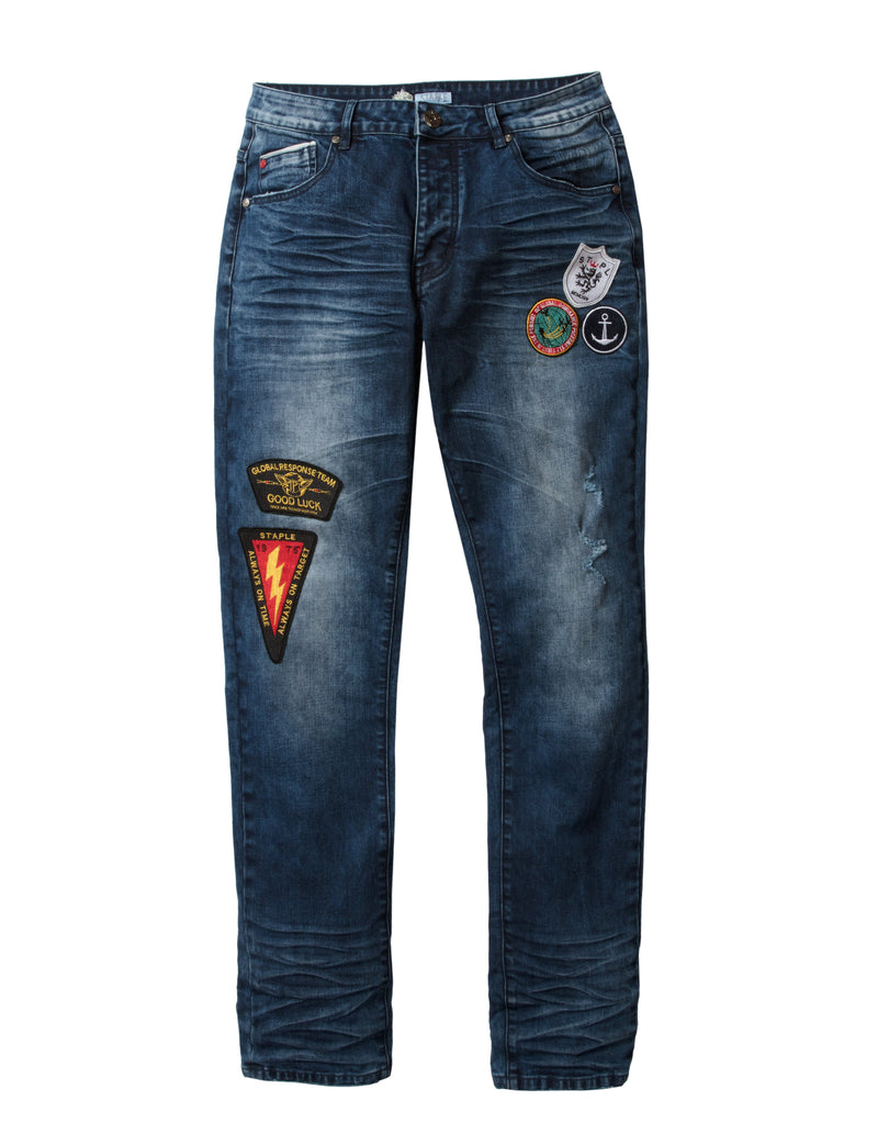 Shield Denim Pants