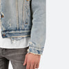 Sherpa Denim Trucker - Blue