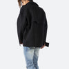 Suede Work Shirt - Black