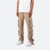 Terry Cargo Sweatpants - Dust