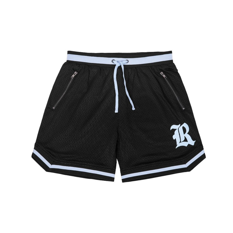 Game Day Mesh Shorts - Black/Blue
