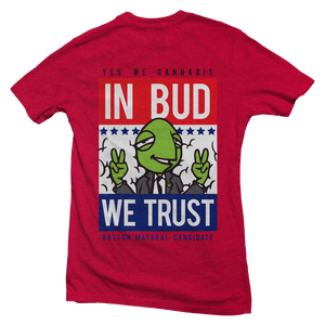 Women's Mayor Vote Turtle T-shirt