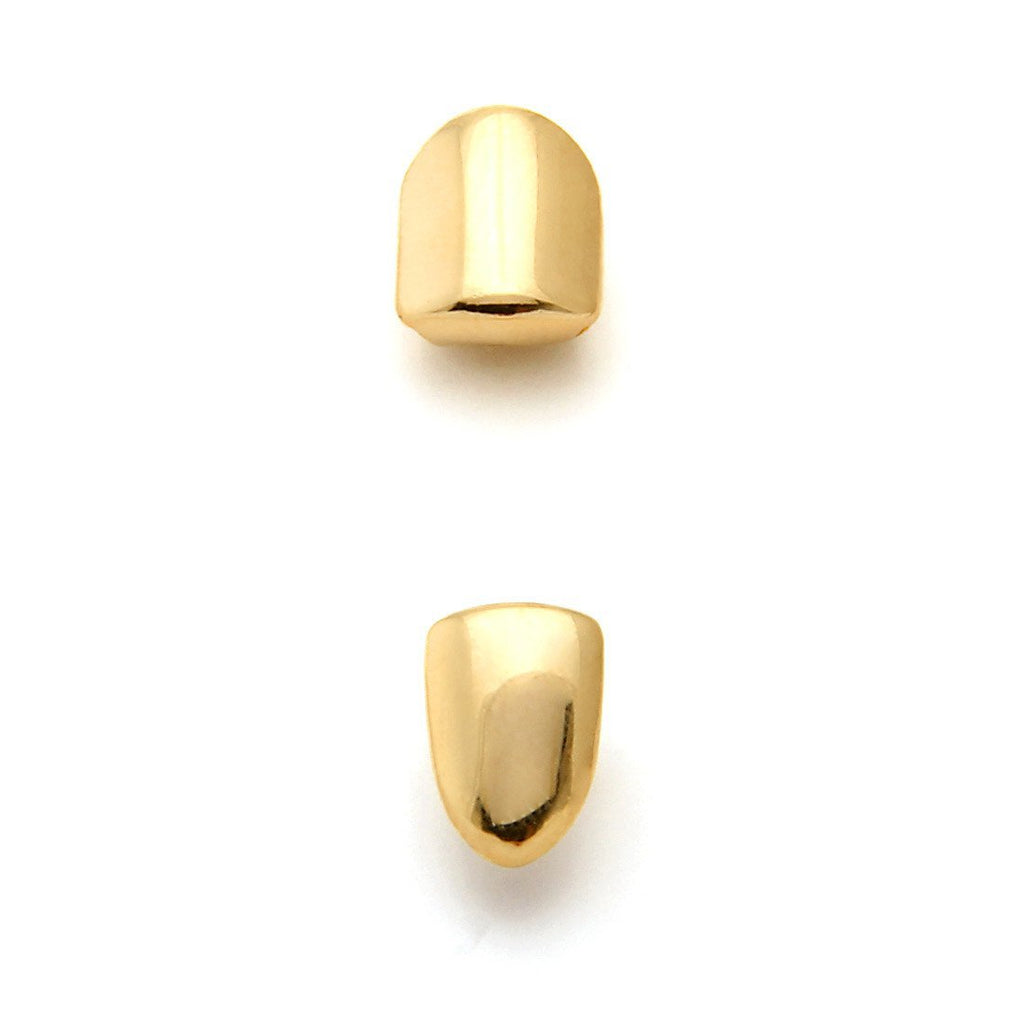 King Ice 14K Gold Single Tooth Cap Grillz