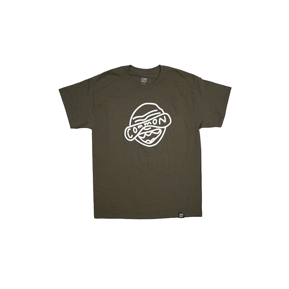 CHOFACE TEE (OLIVE)