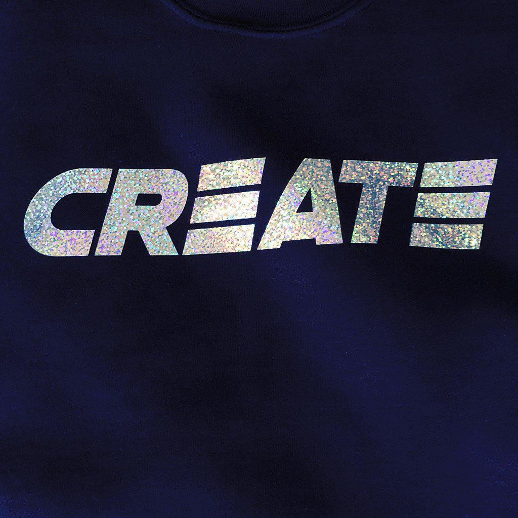 Hologram Crew Neck