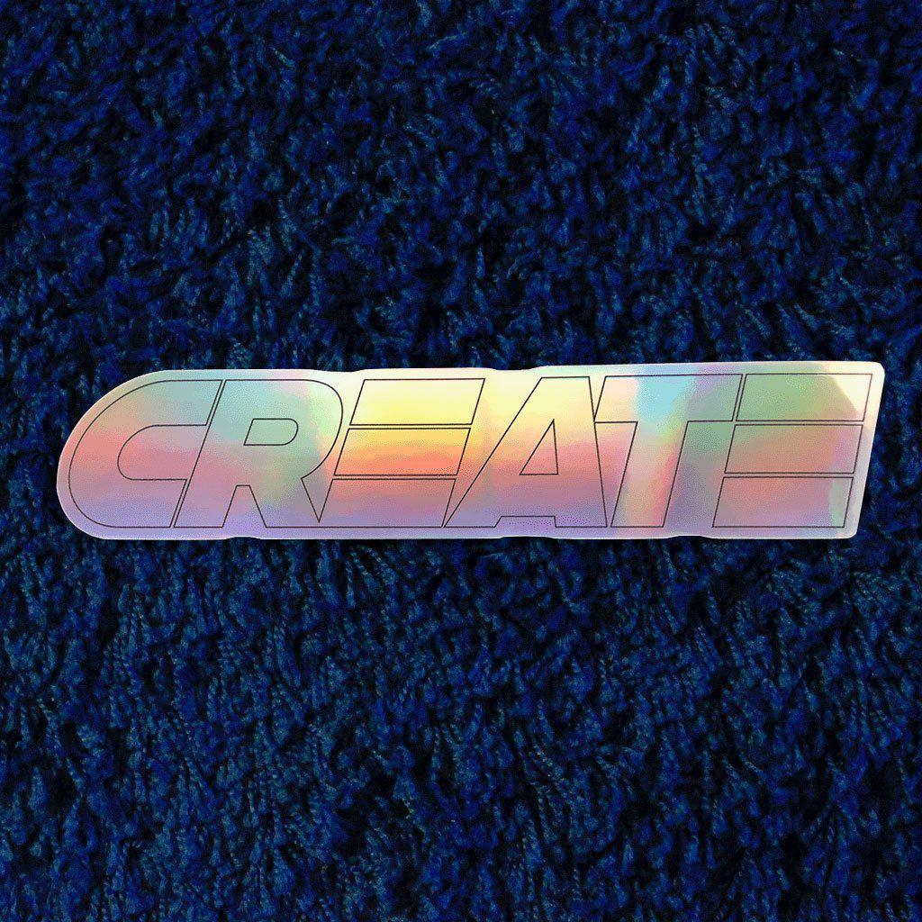 HOLOGRAM Sticker (PRISMA)