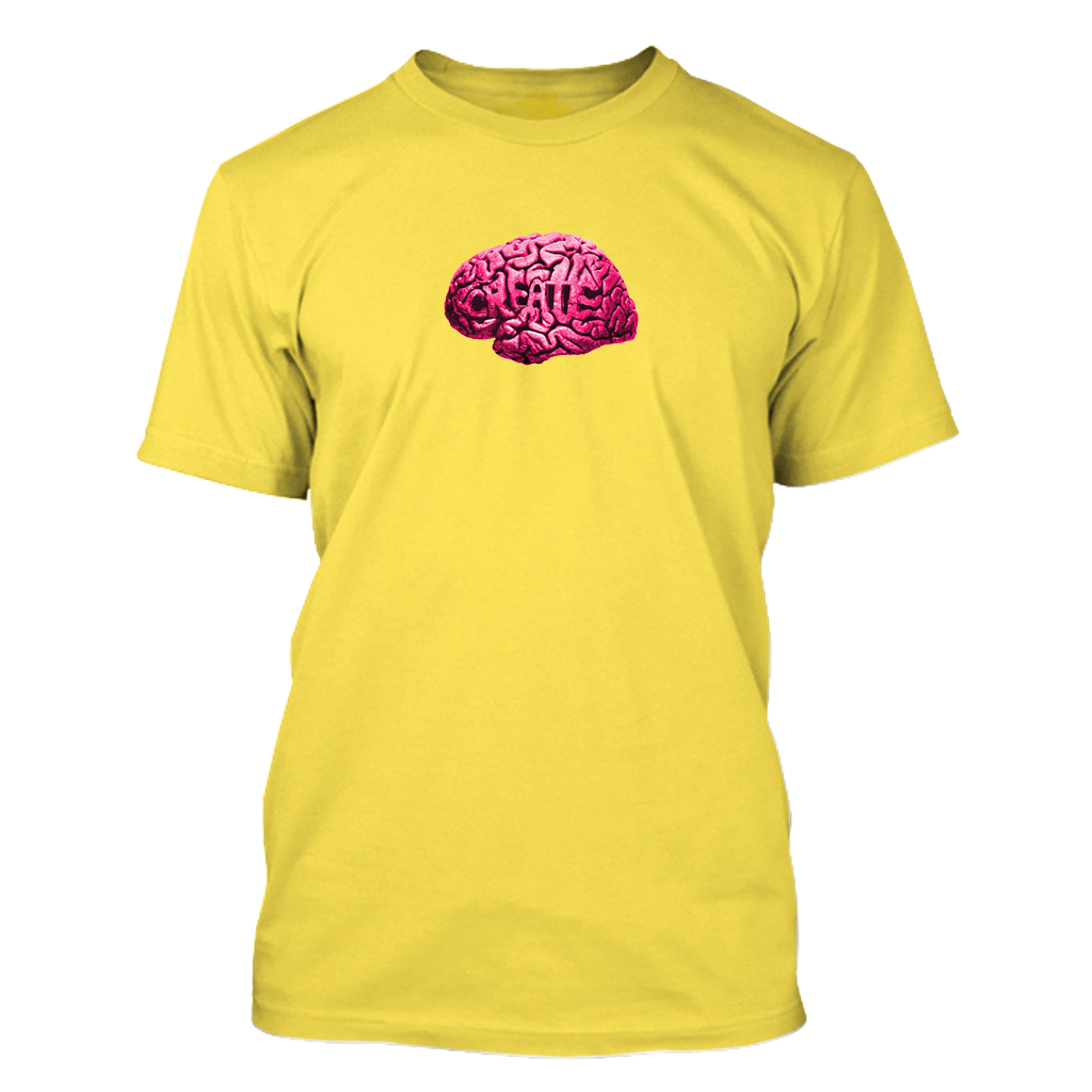 BRAIN TEE (Yellow)