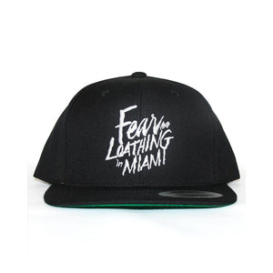 Fear & Loathing Black Snap Back