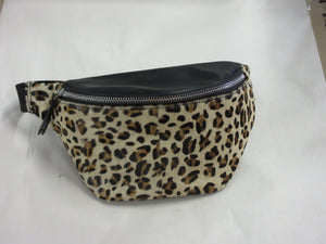 Cheetah Belt Bag 100% Genuine Leather