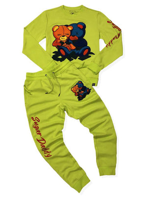Civilized Sweatsuit - Double Sugar Daddy - Lime