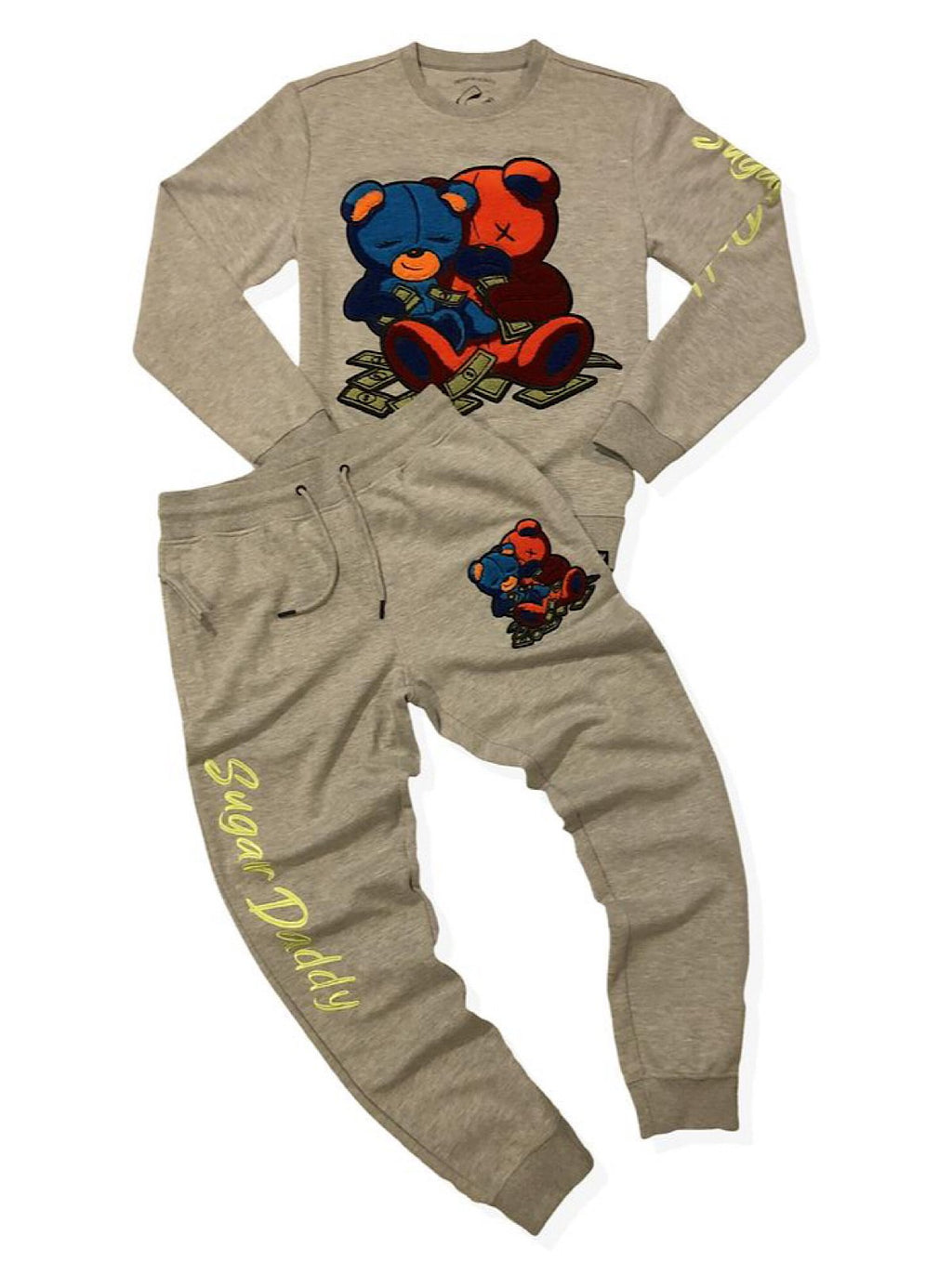 Civilized Sweatsuit - Double Sugar Daddy - Grey