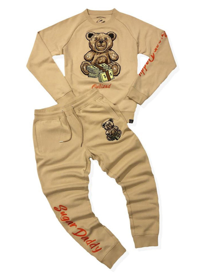 Civilized Sweatsuit - Sugar Daddy - Khaki