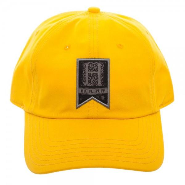 Hufflepuff Woven Label Traditional Adjustable Hat