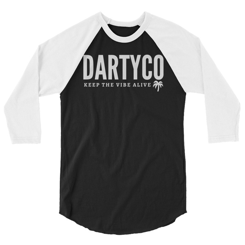 3/4 sleeve Darty Co.®️ Raglan Shirt