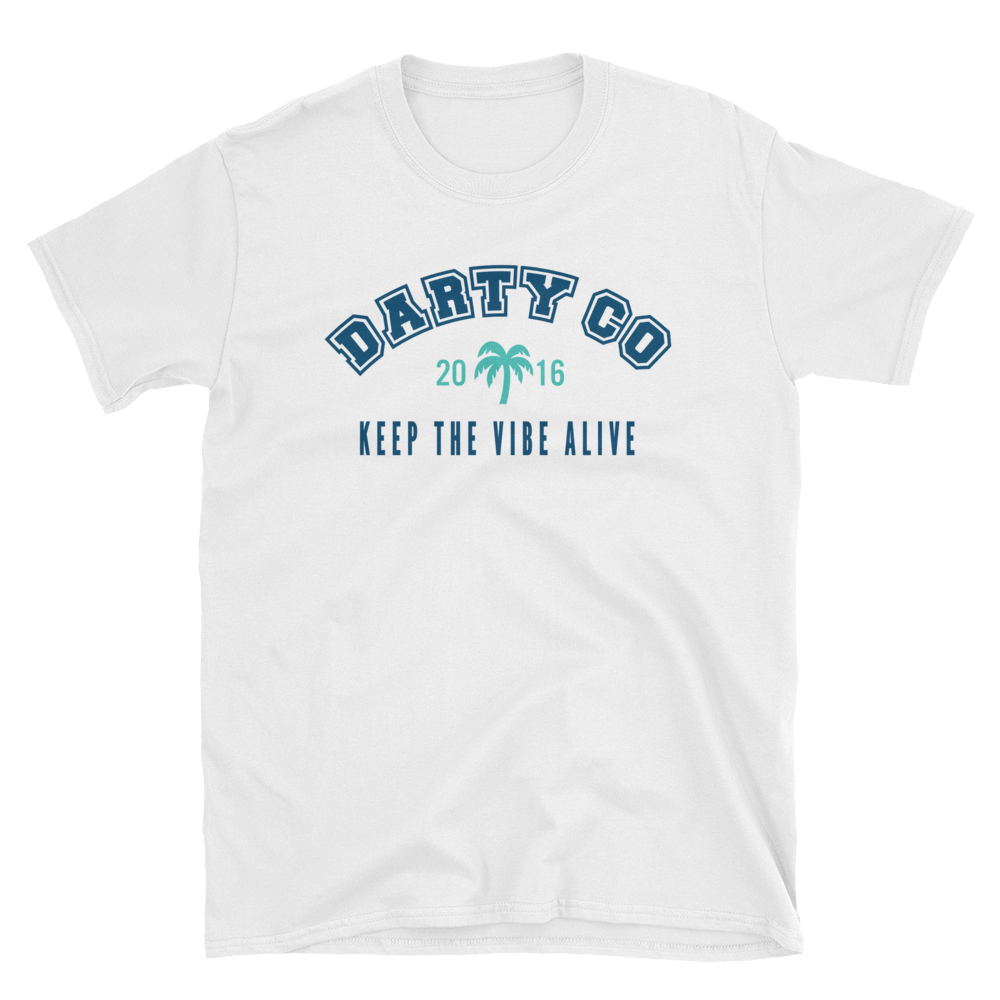 Darty Co.®️ Est. 2016 Short-Sleeve Unisex T-Shirt