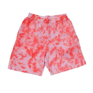 "Jeffersons Custom Tonal Tie Dyed Shorts w/ Pockets ""PEACH"""