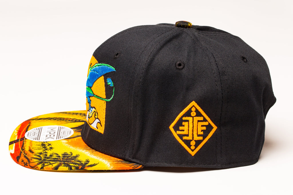 Primal Isle Snap Back- Sunset Edition
