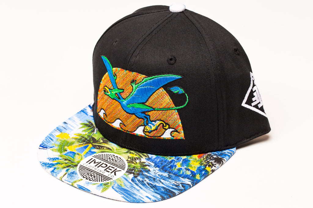 Primal Isle Snap Back- Pacific Edition