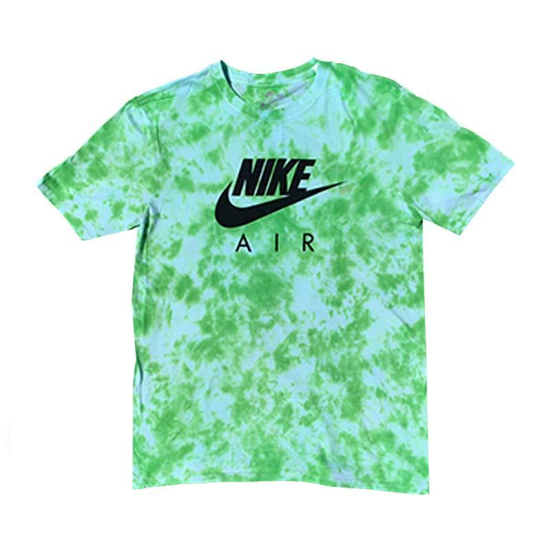 "Nike x Jeffersons Custom Tonal Tie Dyed T-Shirt ""SLIME GREEN"""