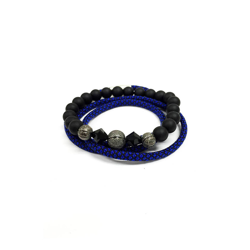 Elite bracelet set // Rhodium
