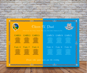 Dual County GAA Table Plan