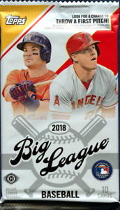 2018 Topps Baseball Big League Pack