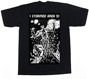 Storm Area 51 T-Shirt Custom Robot Death Limited Edition Tee