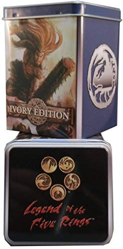 Legend of The Five Rings: L5R Ivory Edition - Crab Clan Starter Deck