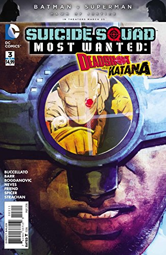 Suicide Squad Most Wanted Edition Deadshot Katana #3