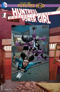 Worlds' Finest: Huntress Power Girl #1 3D Cover New 52 Futures End