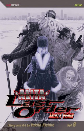 Battle Angel Alita: Last Order, Vol. 8 - Angel's Vision